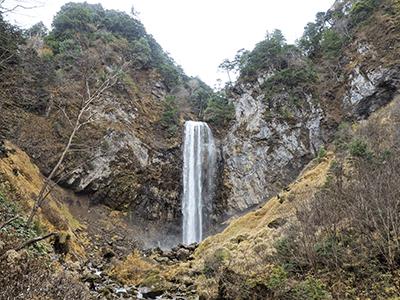 平湯大滝の景色