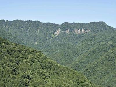 福地壁の風景