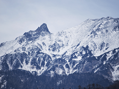 槍ヶ岳の景色