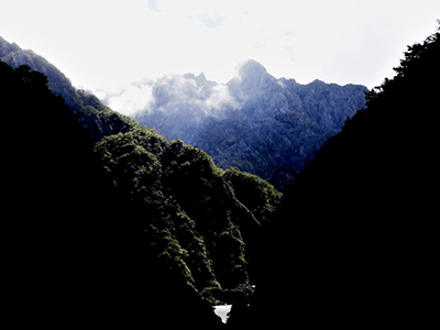 滝谷の景色