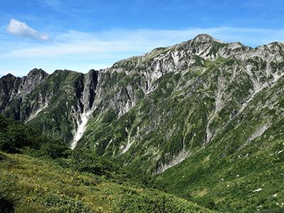 笠ヶ岳の景色