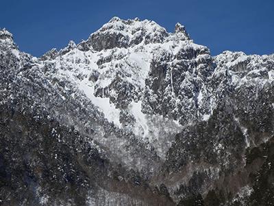 錫杖岳の景色