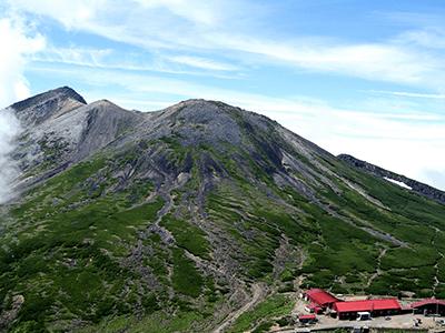 乗鞍岳の景色画像