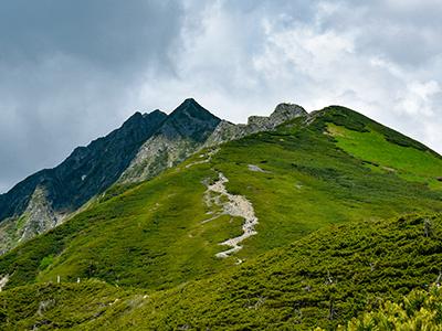 西穂丸山風景画像