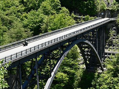 北アルプス大橋風景画像