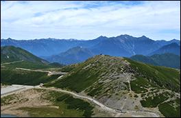 魔王岳と大黒岳の風景画像
