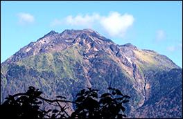 焼岳展望台風景画像