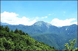 山頂風景画像
