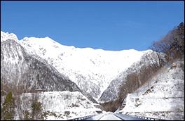 鍋平高原の景色