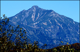 トヤ峠の風景