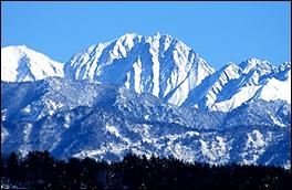穂高連峰の風景