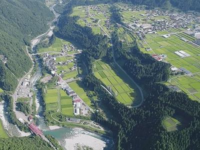 本郷河岸段丘の景色
